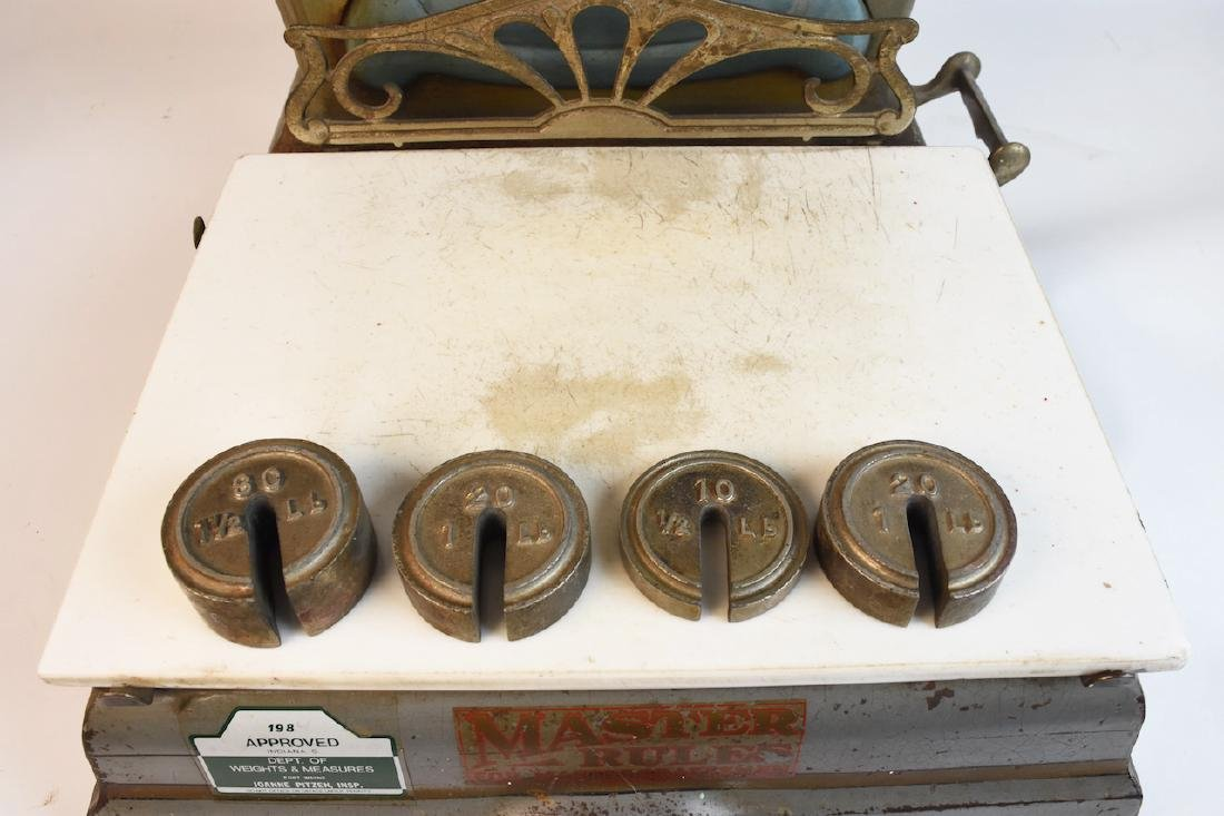 Antique Detroit Automatic Scale Co. Counter Scale - 4