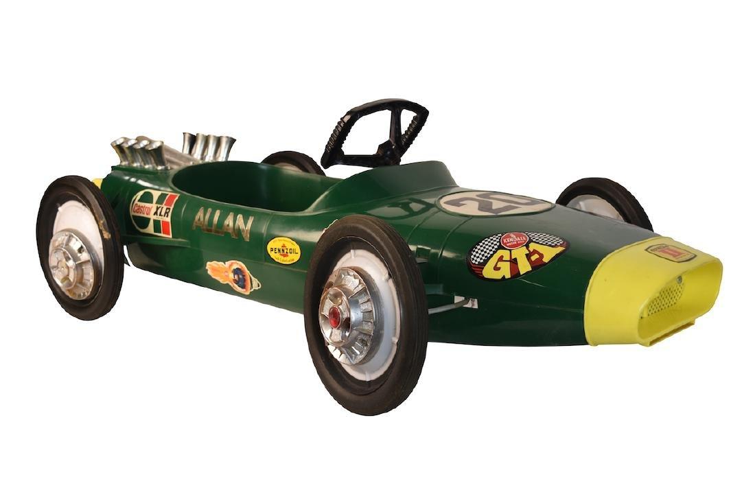 Vint Lotus Formula II Pennzoil Adv. Pedal Car