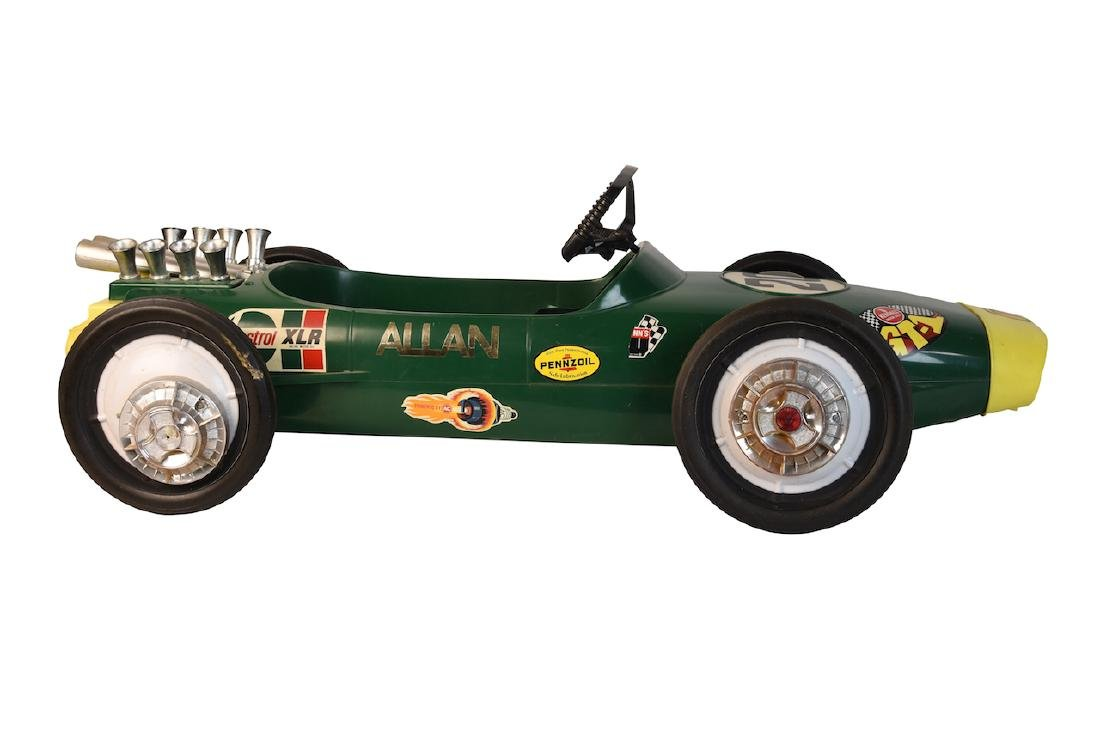 Vint Lotus Formula II Pennzoil Adv. Pedal Car - 2