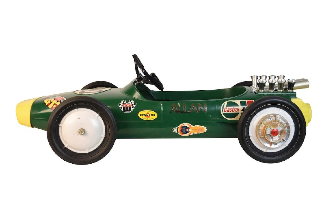 Vint Lotus Formula II Pennzoil Adv. Pedal Car - 3