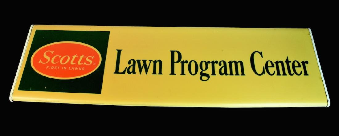 Lighted Scotts Lawn Display Advertisement Sign