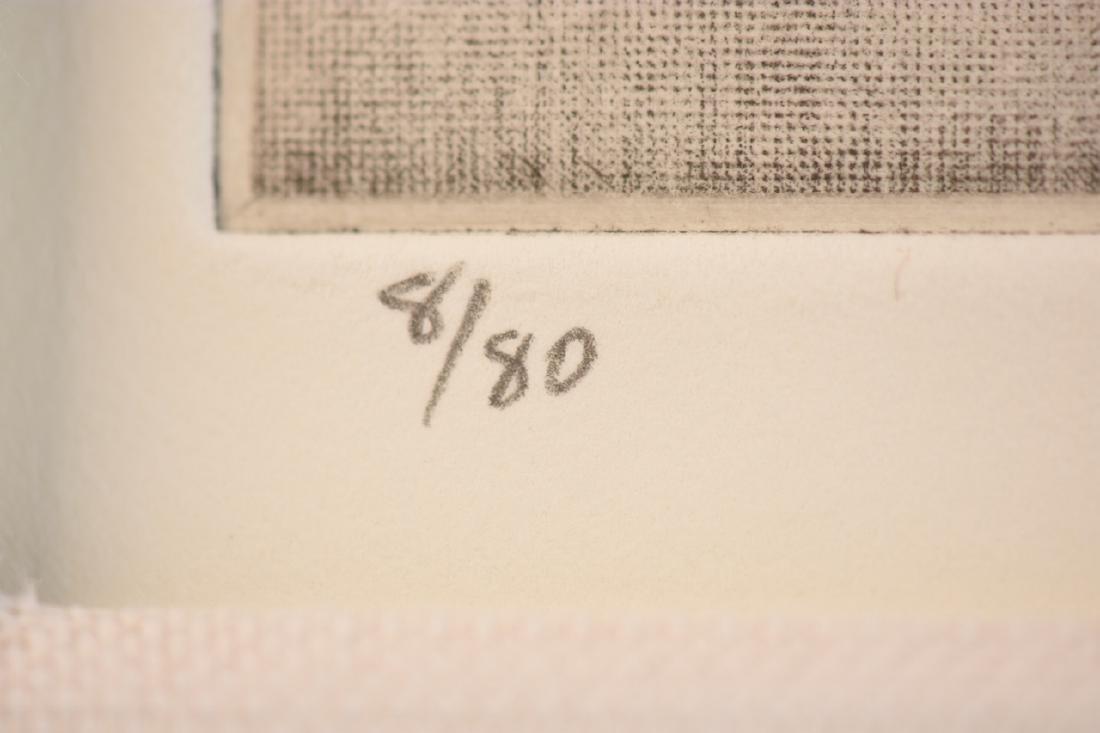 (2) Signed Robert Kipness Mezzotints - 3