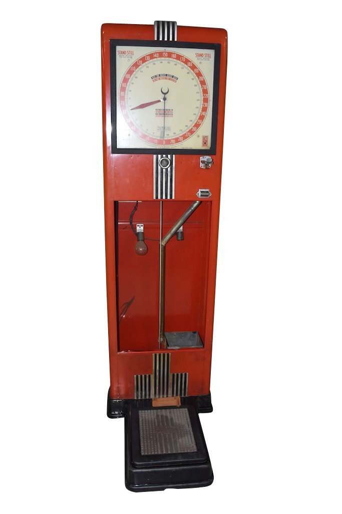 C.R. Kirk & Co. Stand Still Coin Operated Scale