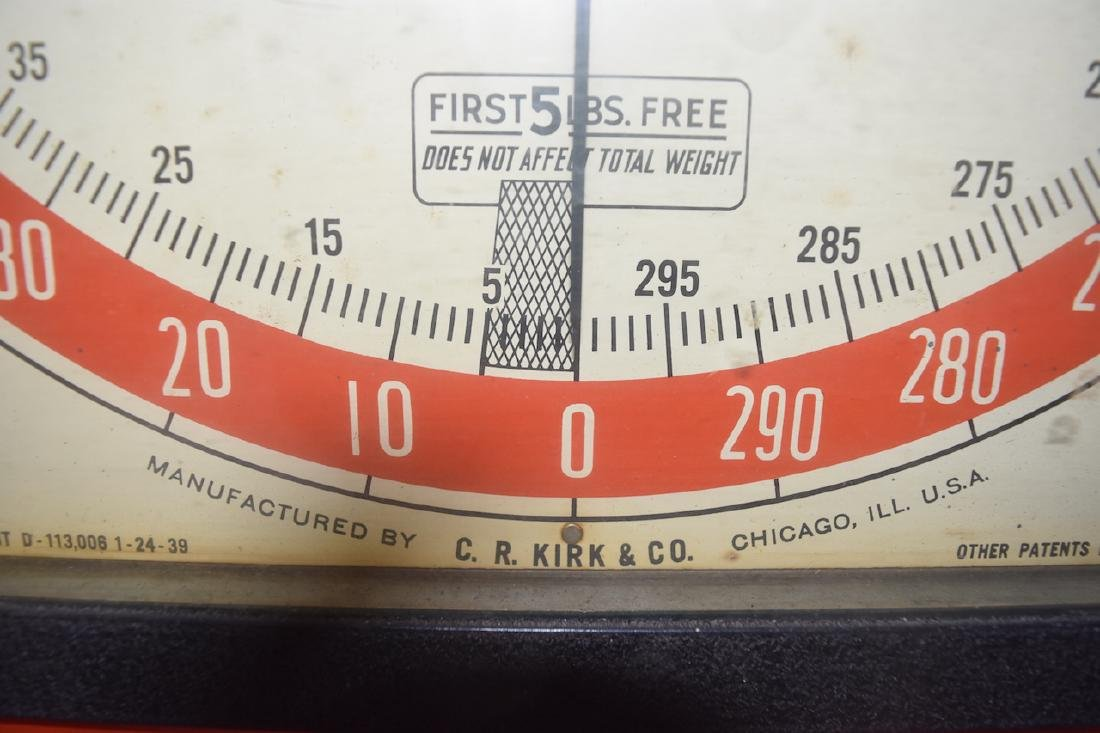 C.R. Kirk & Co. Stand Still Coin Operated Scale - 7