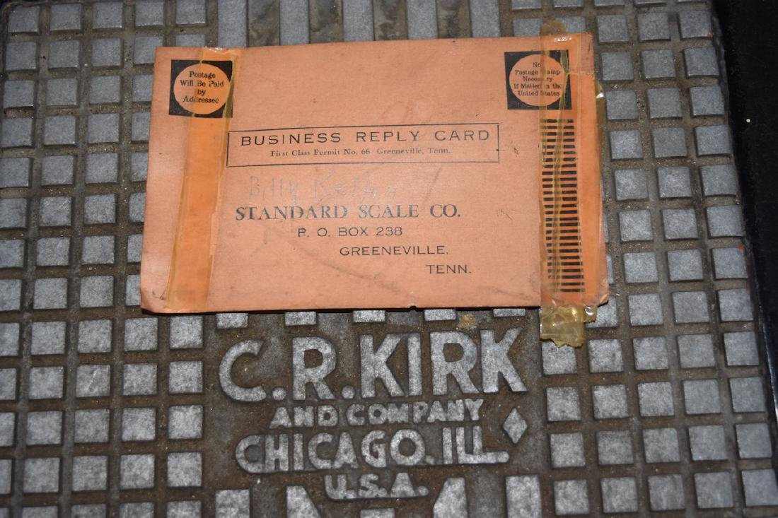 C.R. Kirk & Co. Stand Still Coin Operated Scale - 9