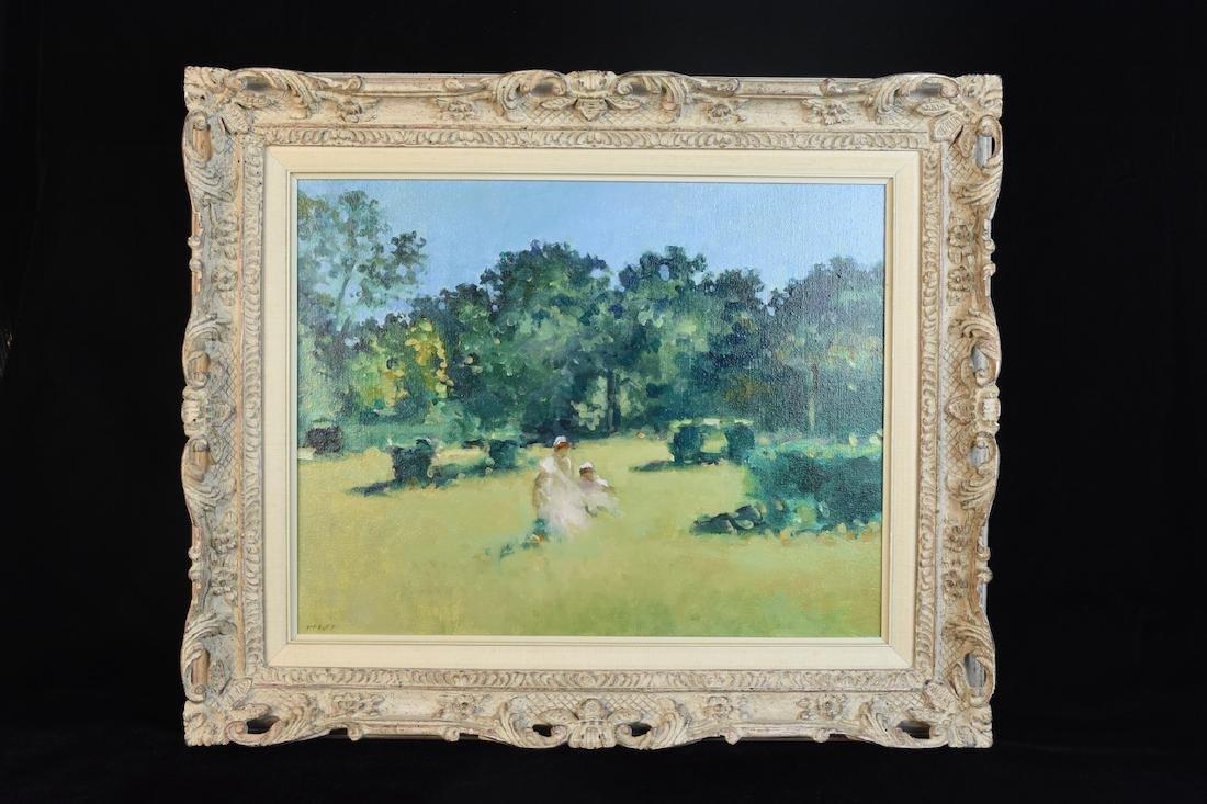Frederick McDuff Original Oil on Canvas; SLL