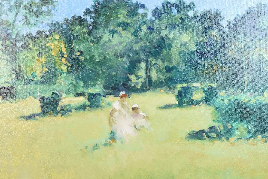 Frederick McDuff Original Oil on Canvas; SLL - 2