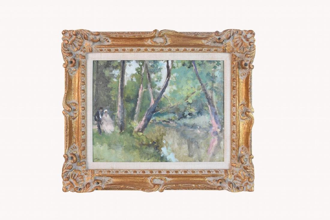 Original Frederick McDuff Oil Painting; SLL