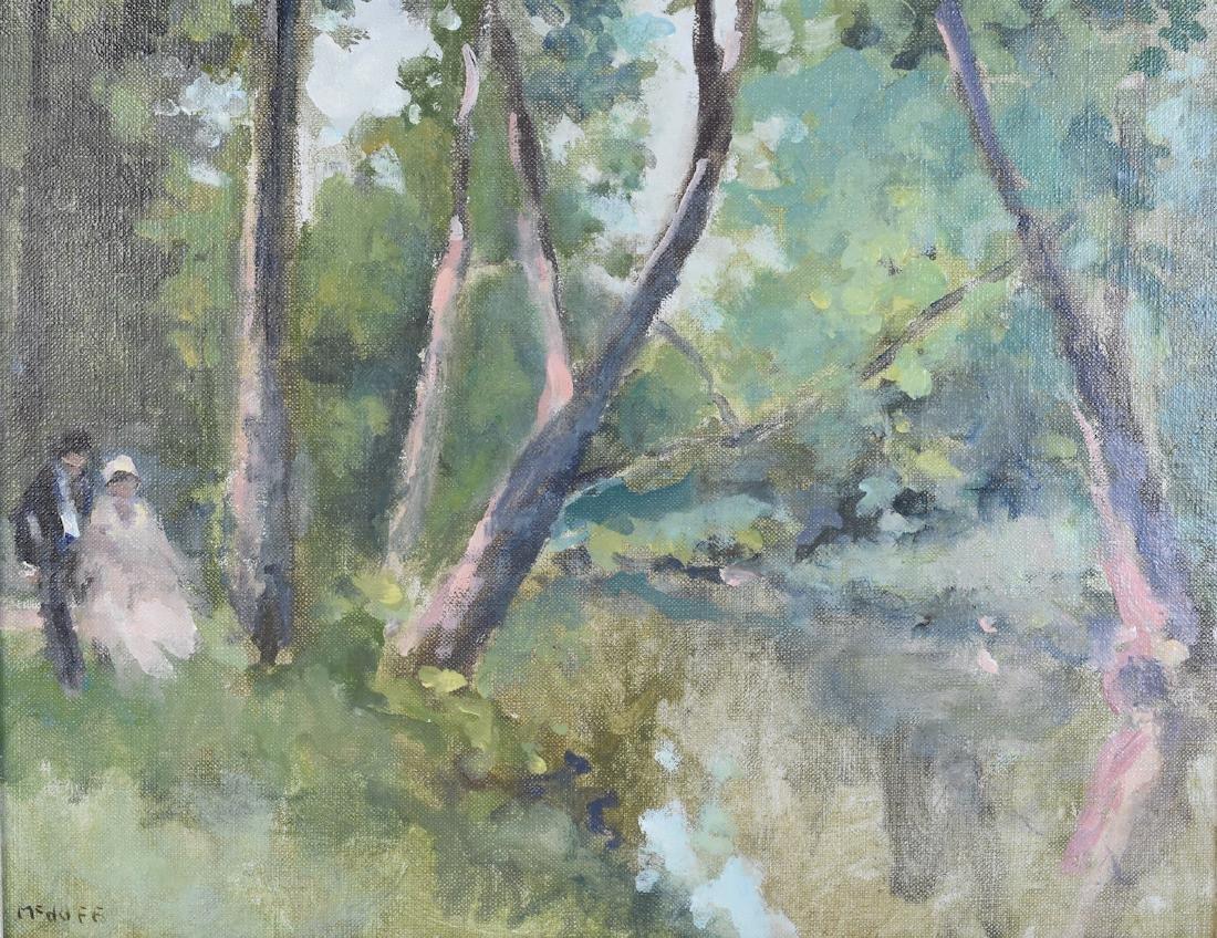 Original Frederick McDuff Oil Painting; SLL - 2