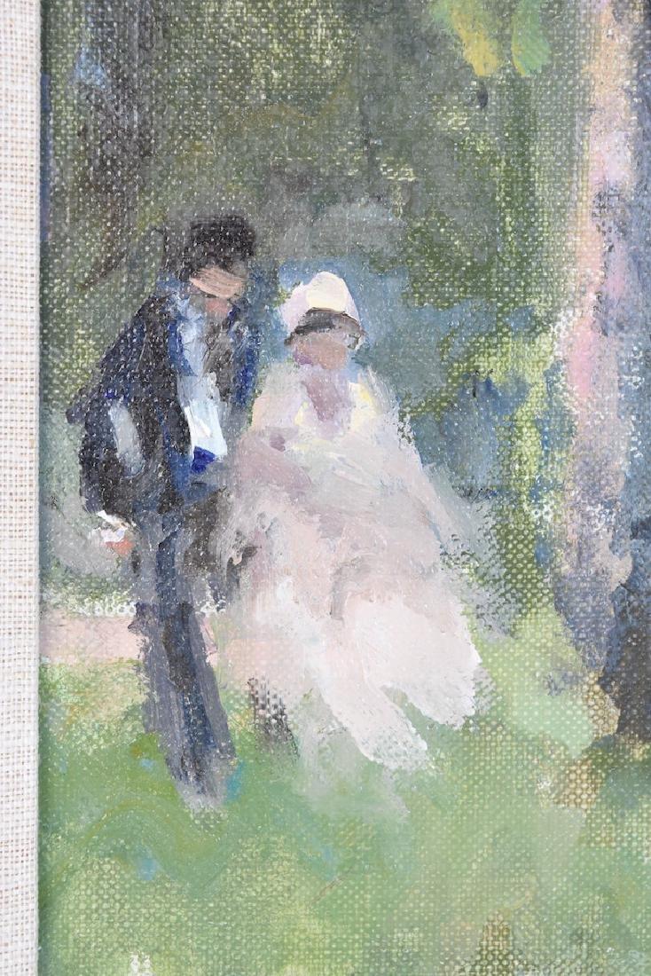 Original Frederick McDuff Oil Painting; SLL - 3