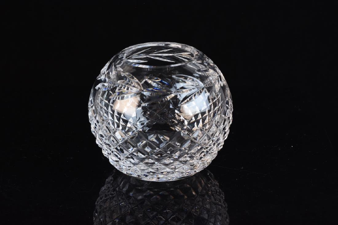 Waterford Cut Crystal Rose Bowl Vase