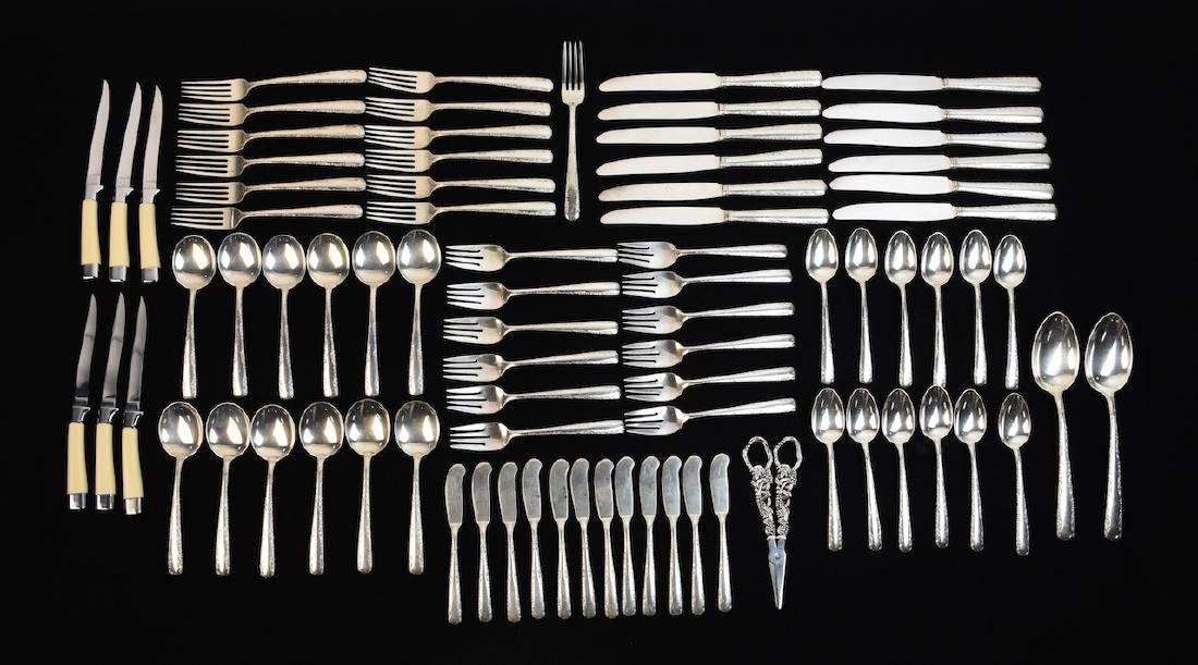Gorham Camellia Sterling Silverware Set