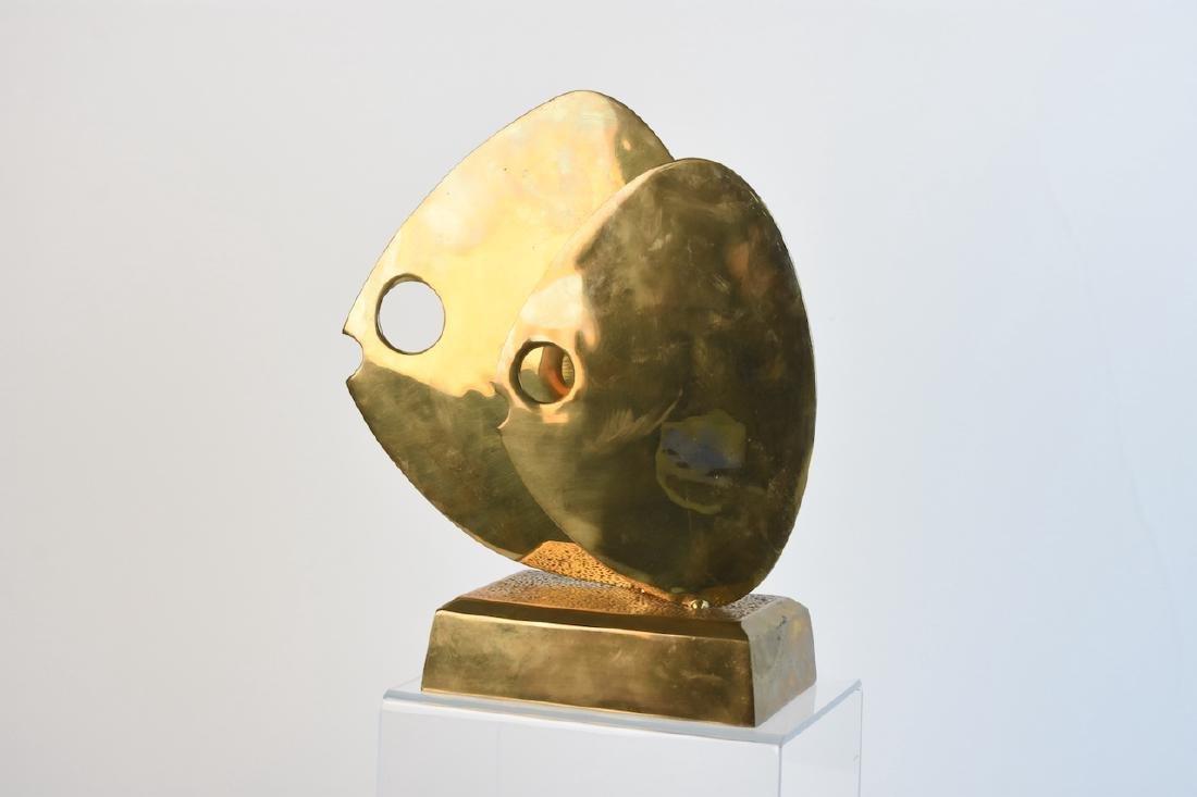 Modern Brass Fish Figural; Dolbi Cashier Korea