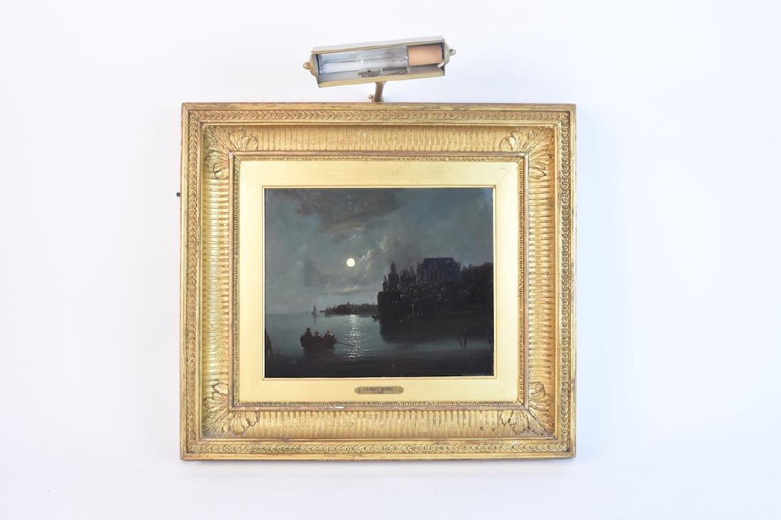 Charles Morris c. 1867 Oil on Panel, SLR