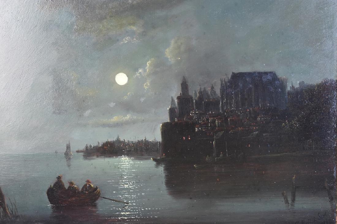 Charles Morris c. 1867 Oil on Panel, SLR - 2
