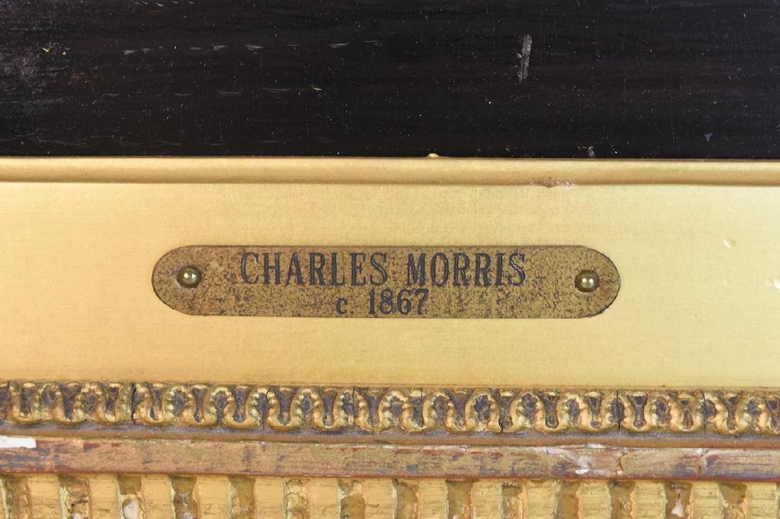 Charles Morris c. 1867 Oil on Panel, SLR - 3