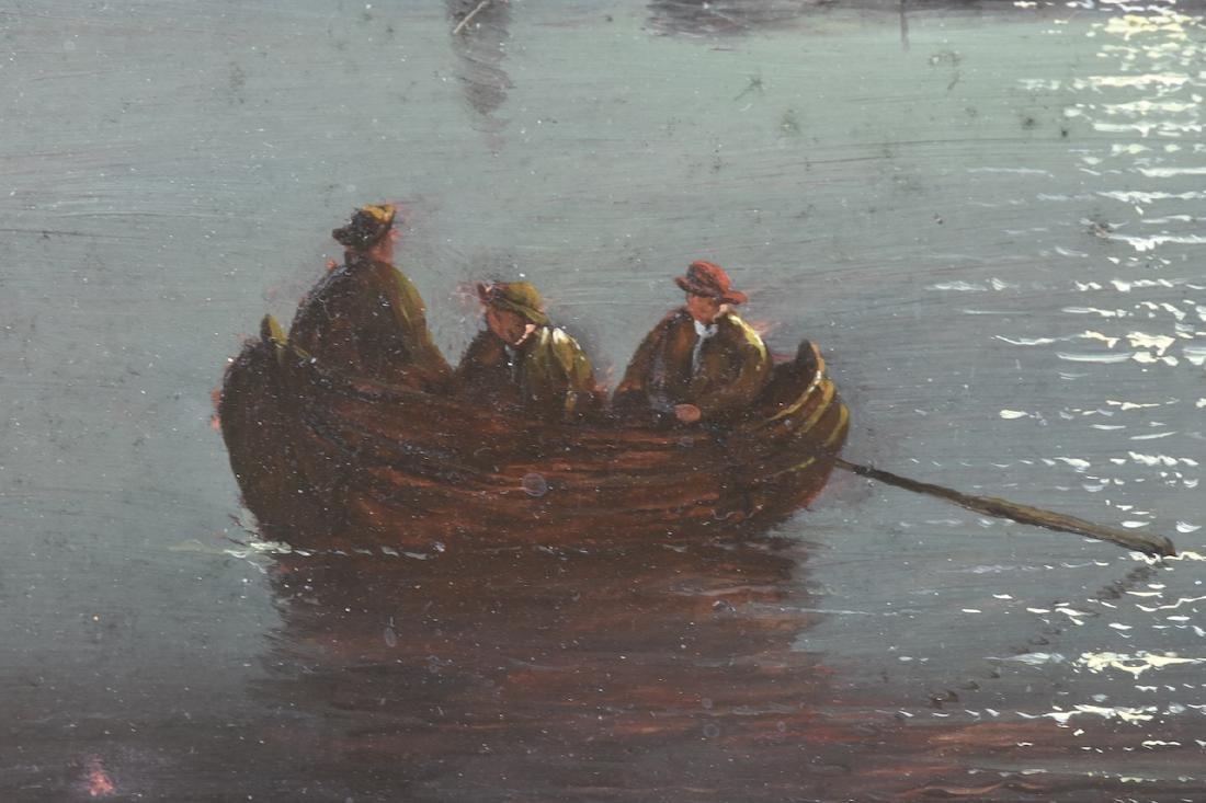 Charles Morris c. 1867 Oil on Panel, SLR - 4