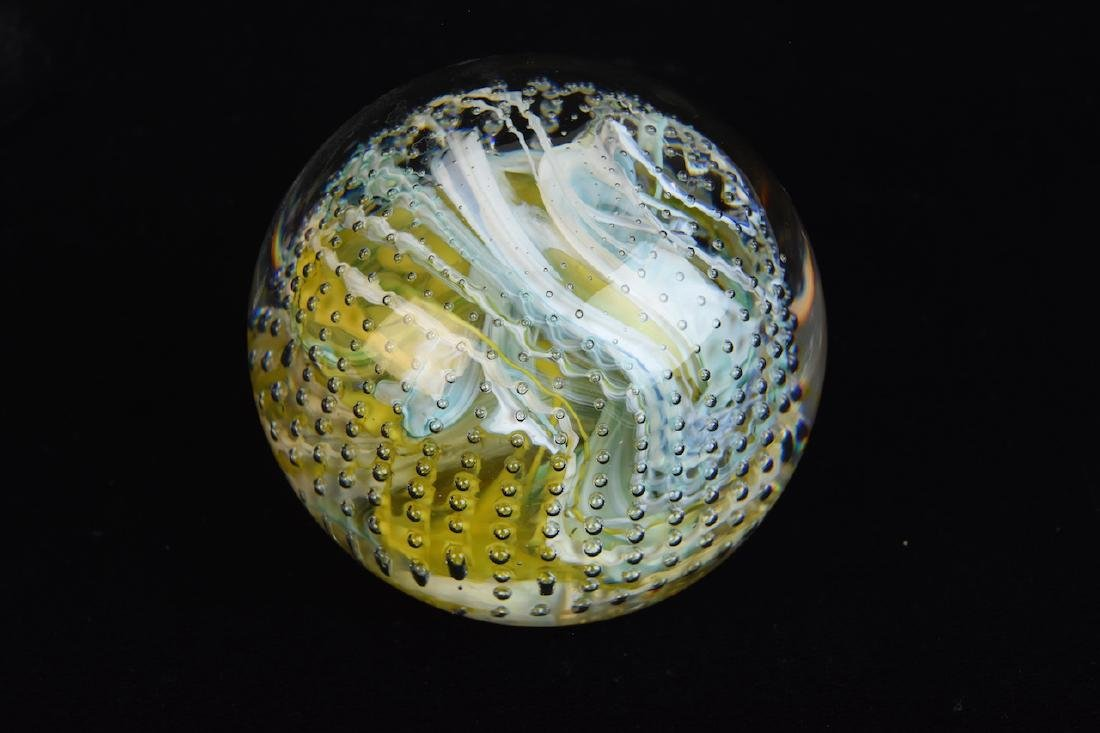 Assorted Paperweights; Baccarat, Caithness - 3