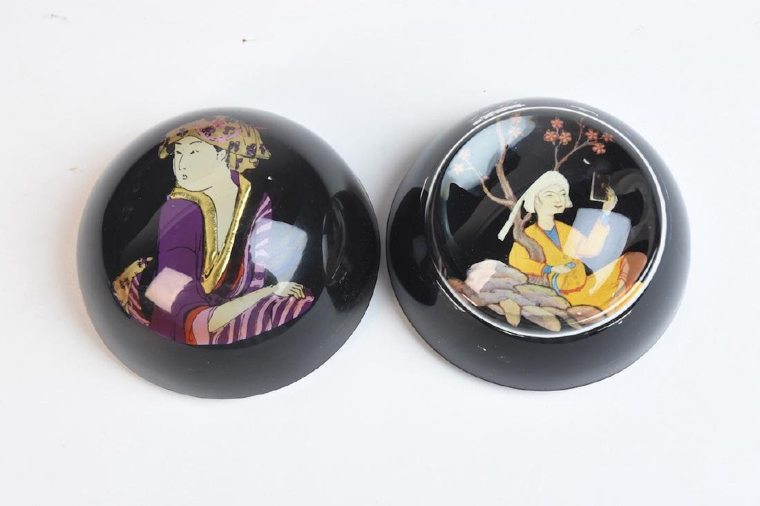 Assorted Paperweights; Baccarat, Caithness - 8
