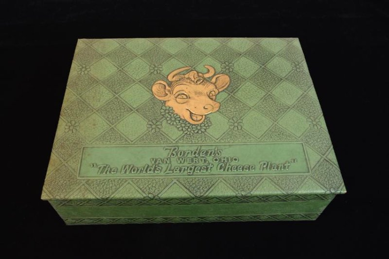 Vintage Borden's Cheese Advertising Box