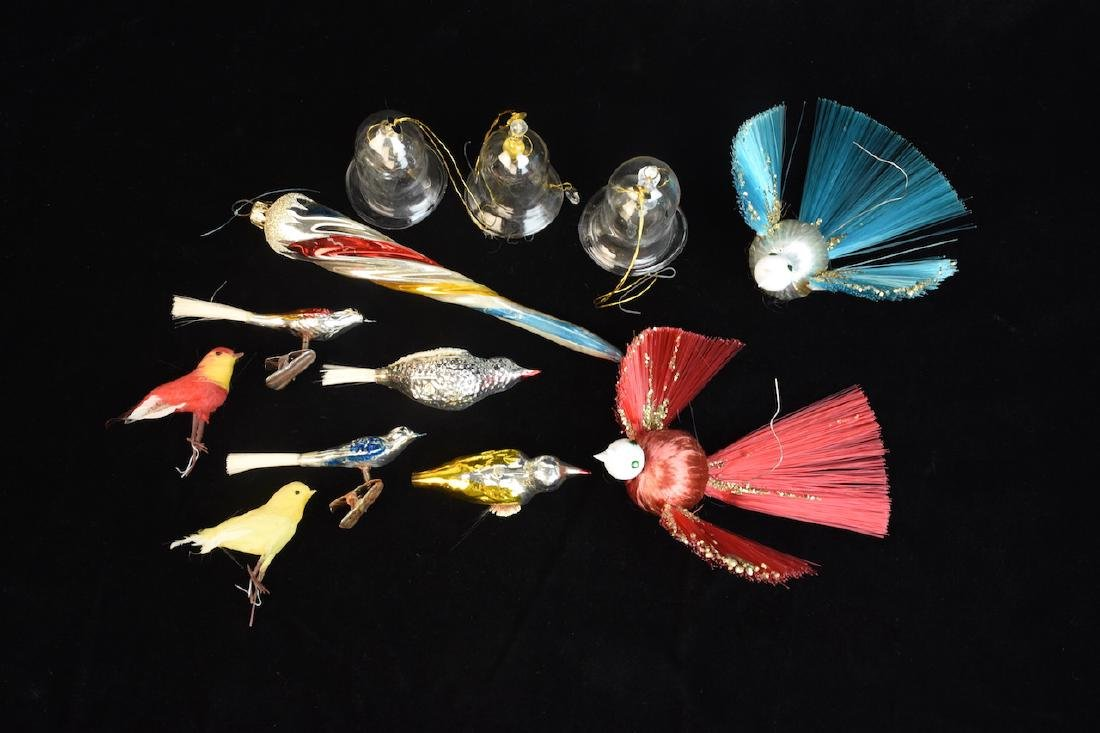 Assorted Vintage Christmas Tree Ornaments