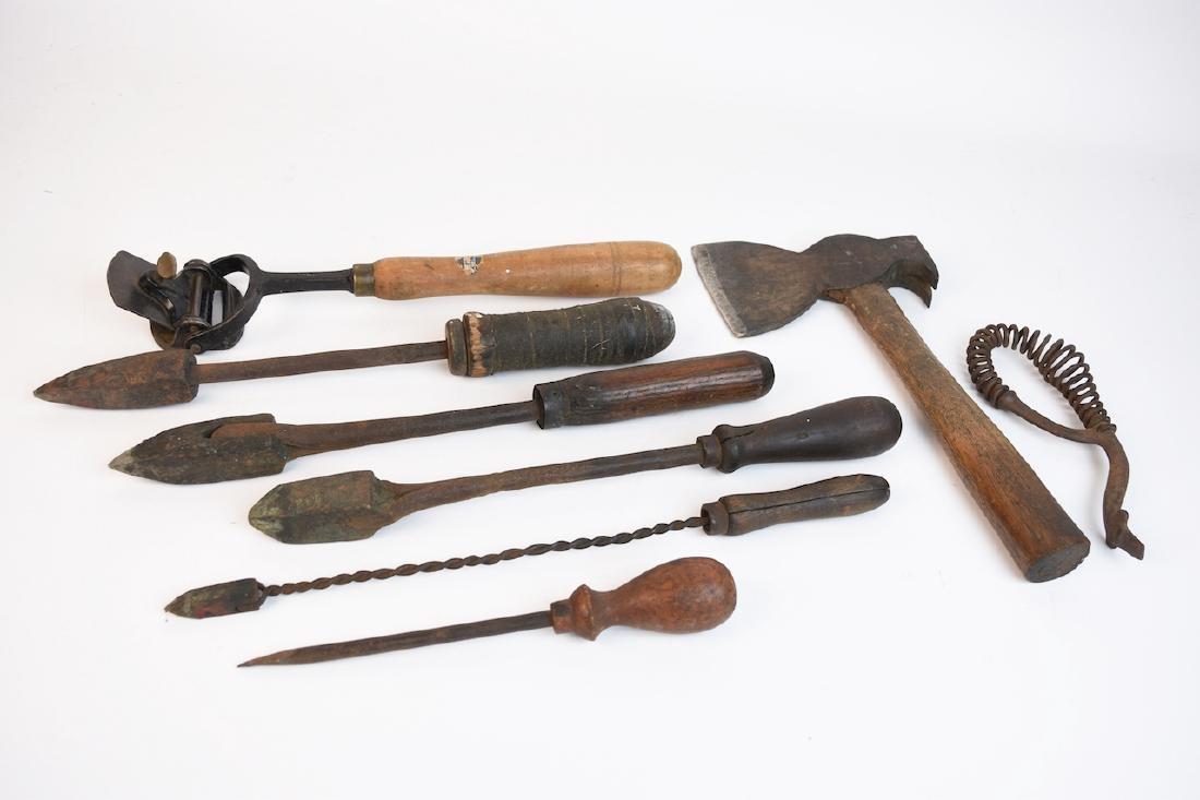 Antique Hand Tools Assortment