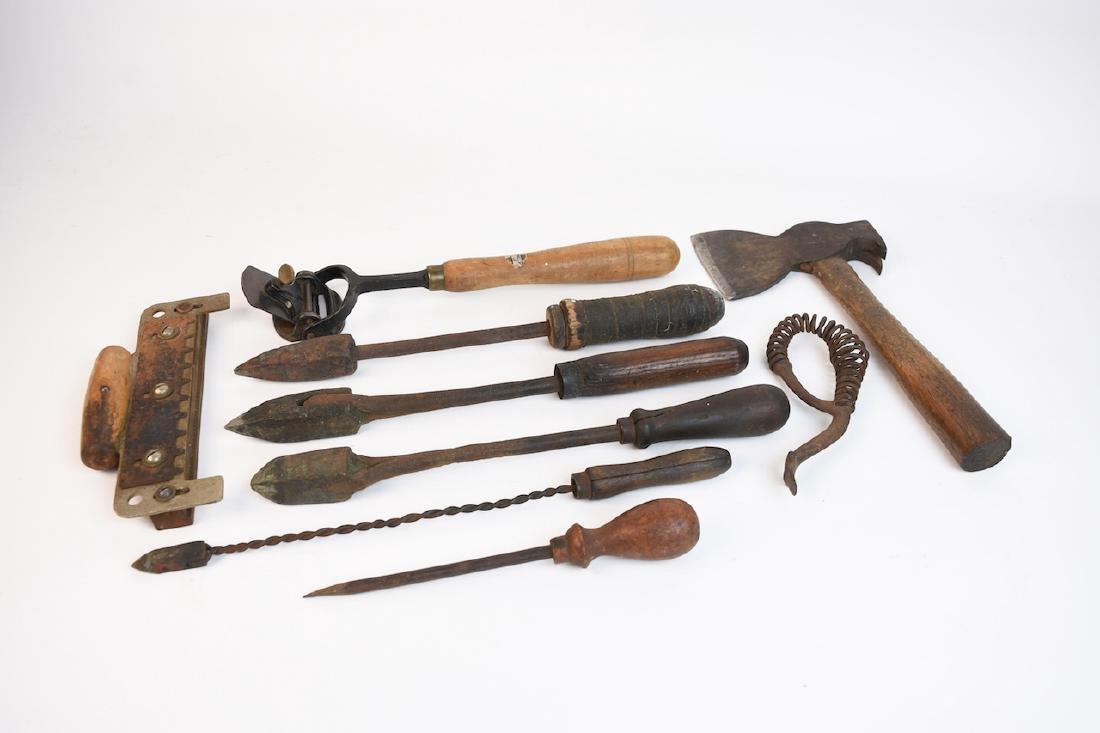Antique Hand Tools Assortment - 2