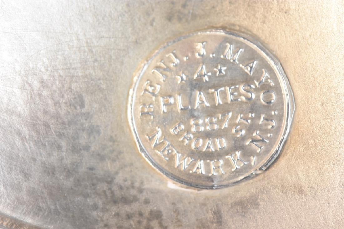 Silver Plated Condiment Cruet Set - 6