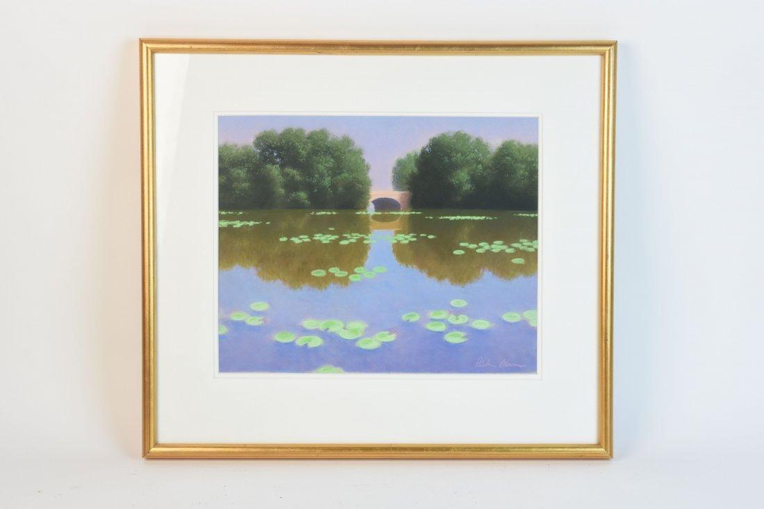 Original Pastel by Rick Olson; 1986 SLR