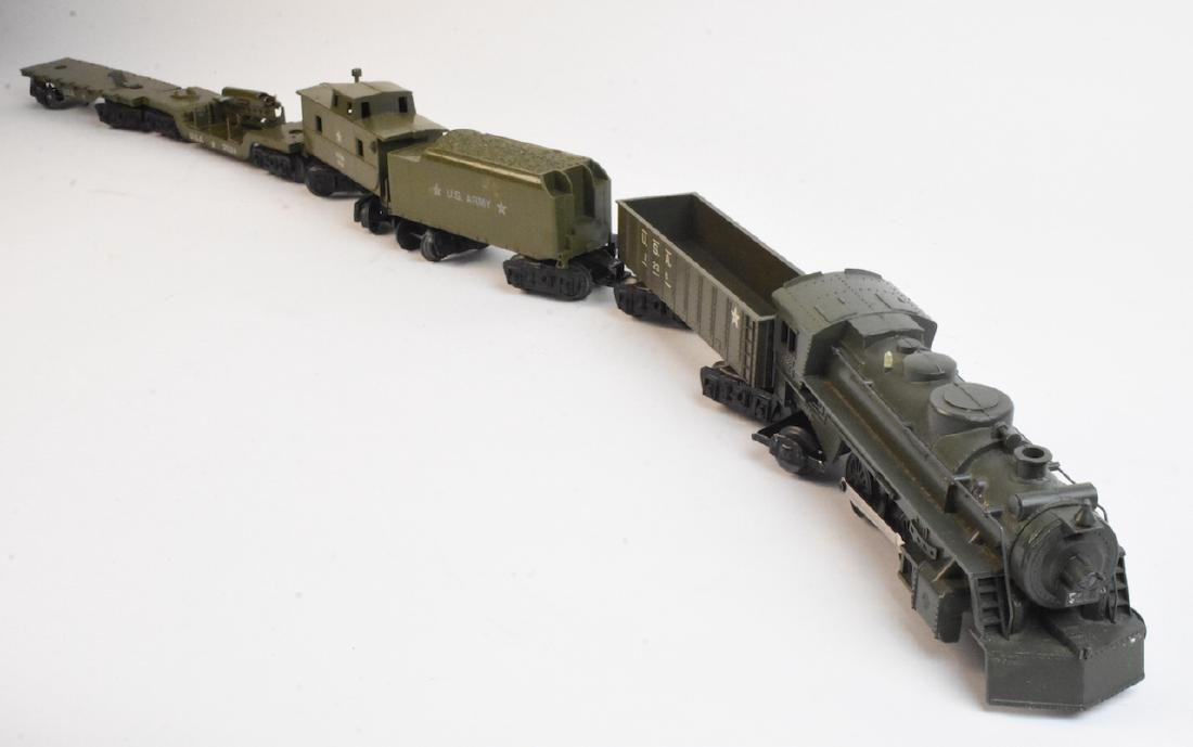 Marx Military Toy Train Set