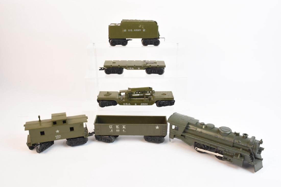 Marx Military Toy Train Set - 2