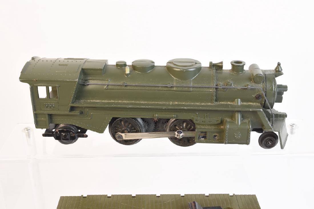 Marx Military Toy Train Set - 3