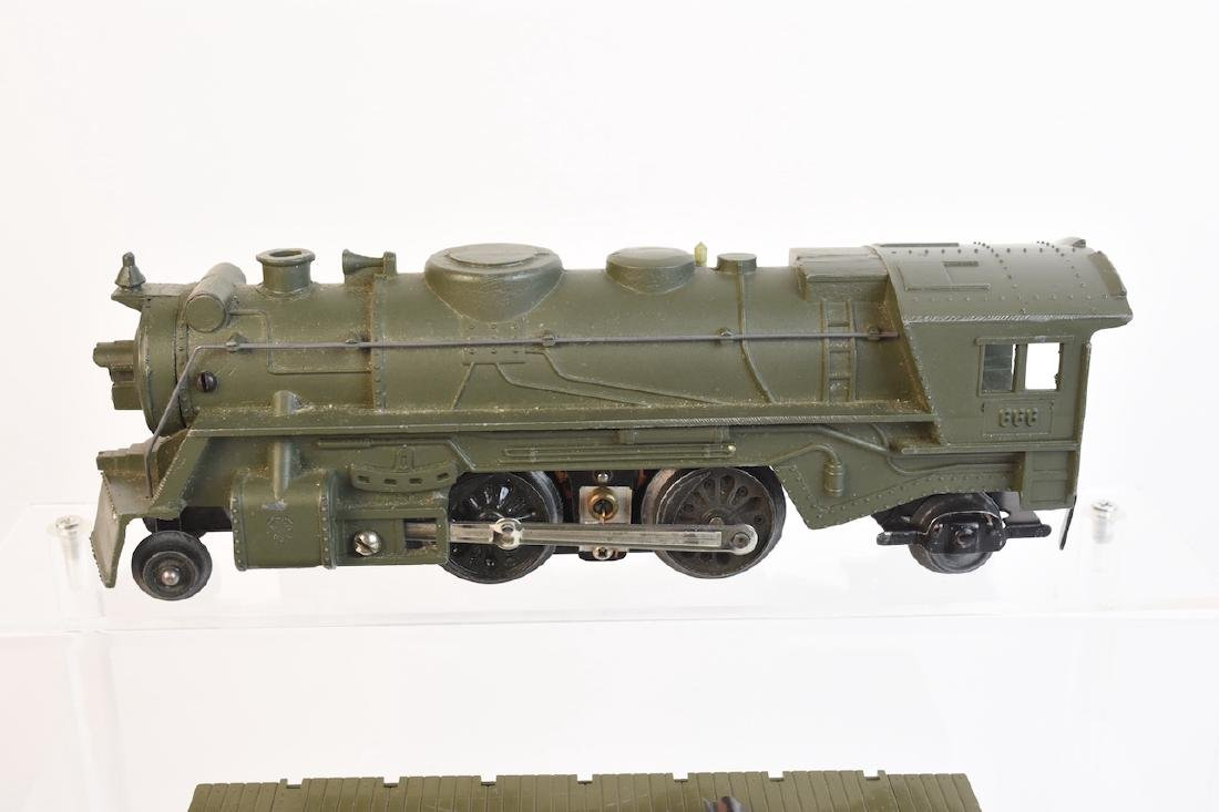 Marx Military Toy Train Set - 4