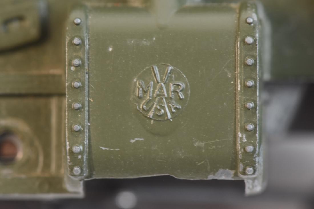Marx Military Toy Train Set - 6