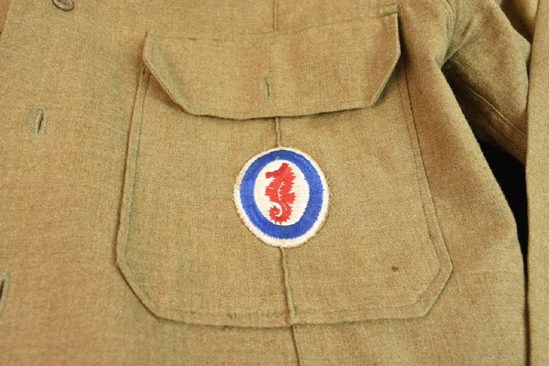 WWII Army Amphibious Engineers Dress Clothes - 2