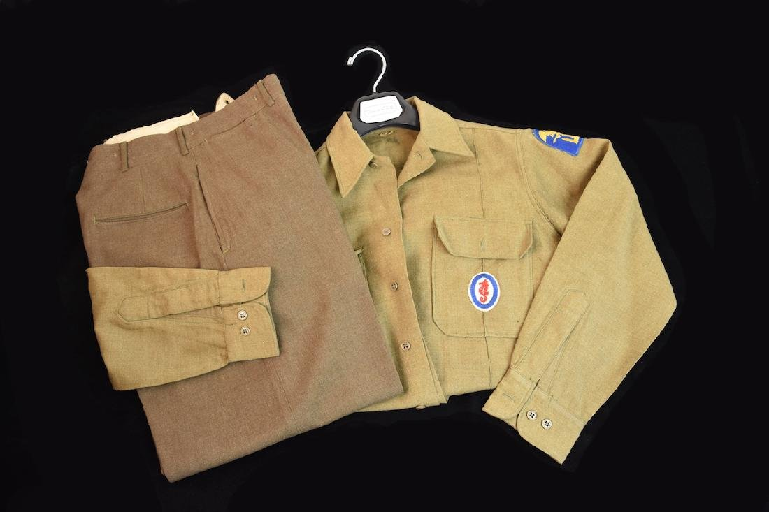 WWII Army Amphibious Engineers Dress Clothes - 6