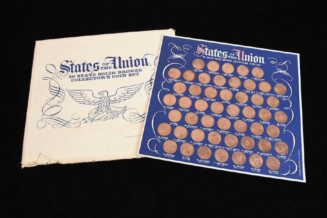 State of The Union Bronze Collectors Set 1969