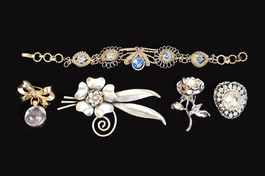 Collection of Costume Jewelry; Cora, Napier + - 9