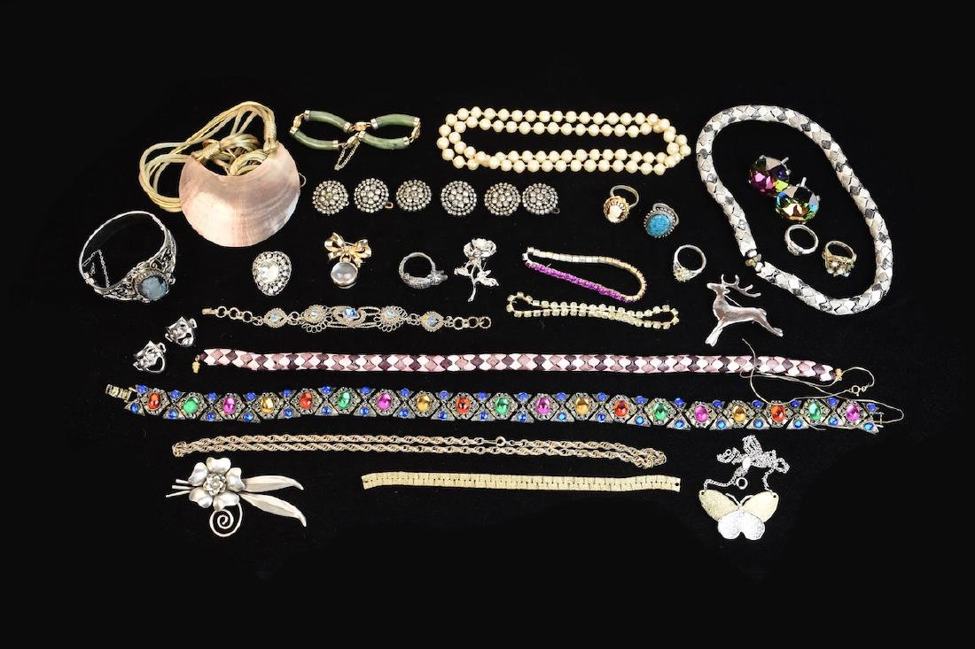 Collection of Costume Jewelry; Cora, Napier + - 2