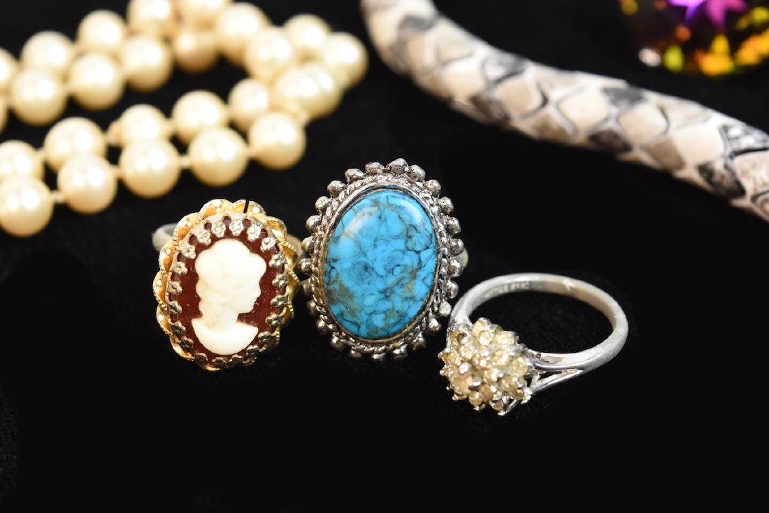 Collection of Costume Jewelry; Cora, Napier + - 4