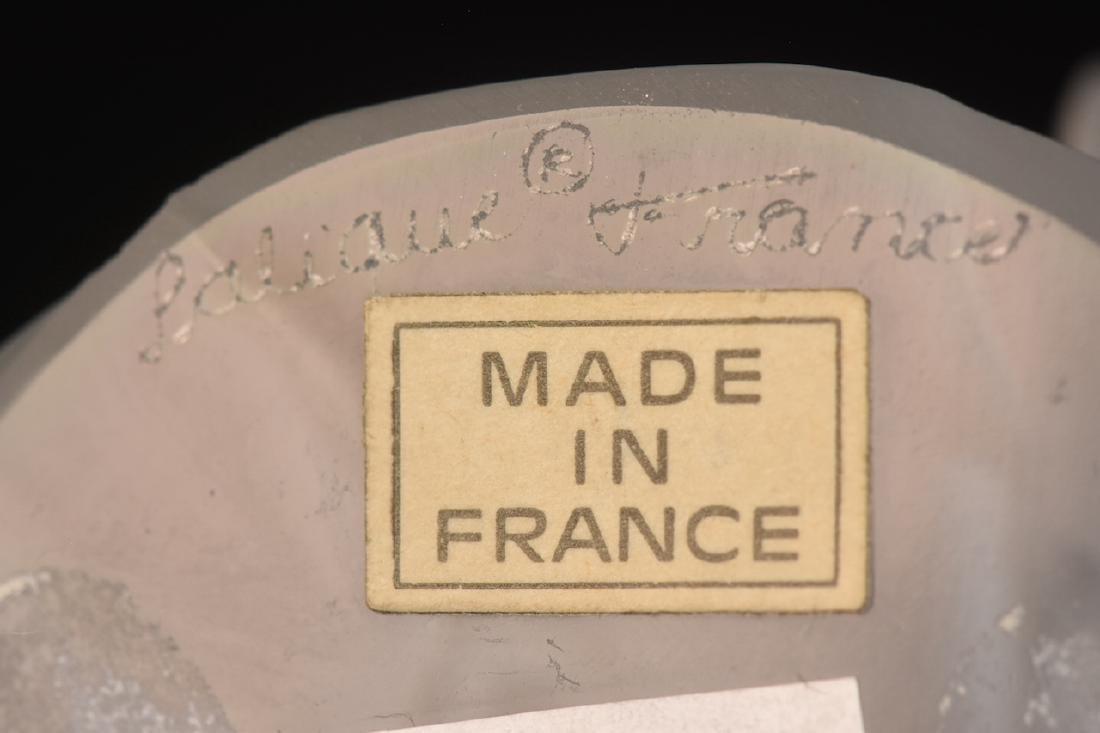 "Lalique France ""Liberty Eagle"" Crystal Sculpture - 7"