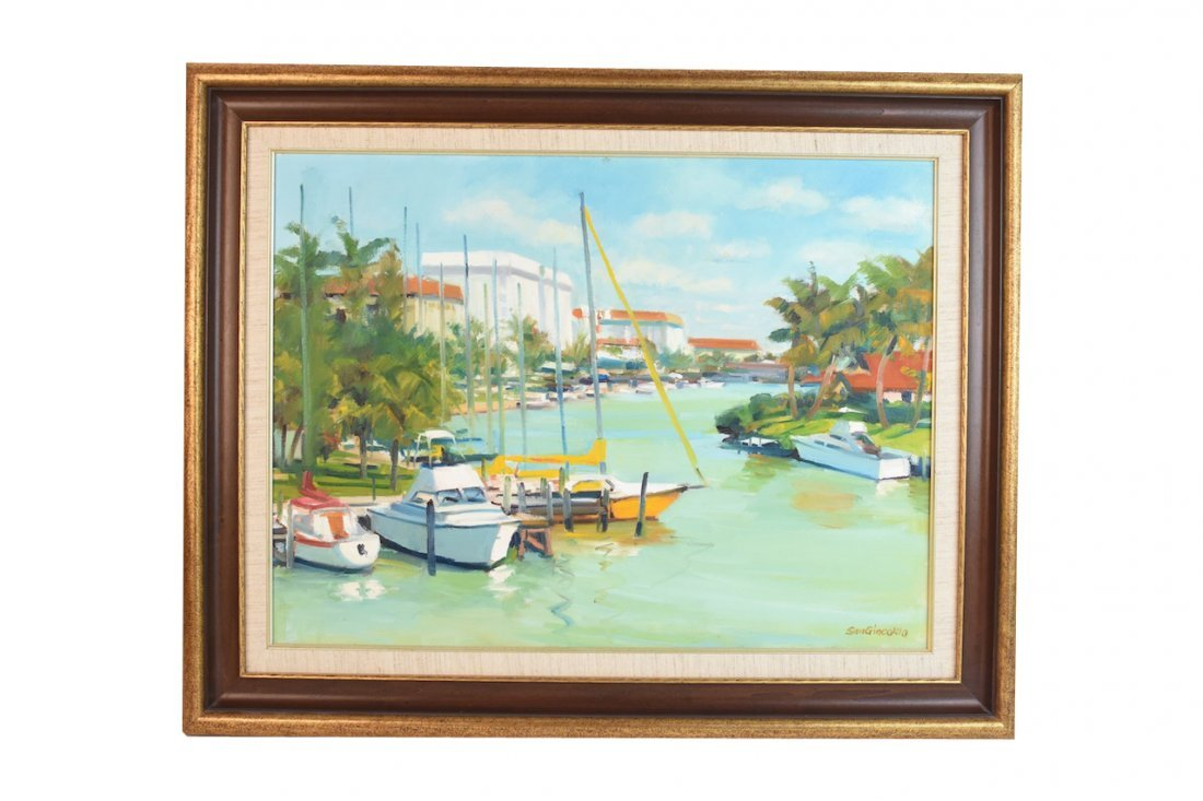 Original Oil Painting by Elsio San Giacomo; SLR