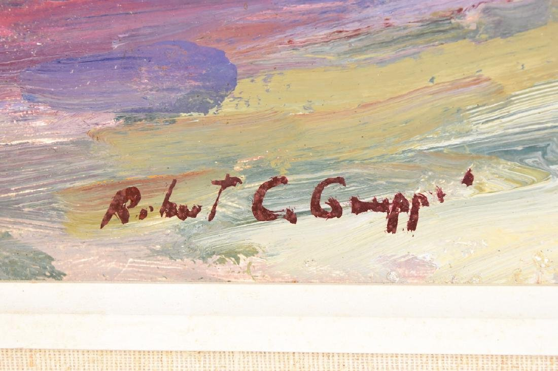 Robert C Gruppe Oil On Canvas - 3