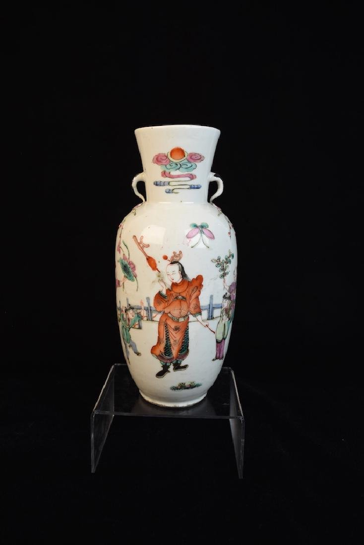 Artisans of China Hand Painted Chinese Vase