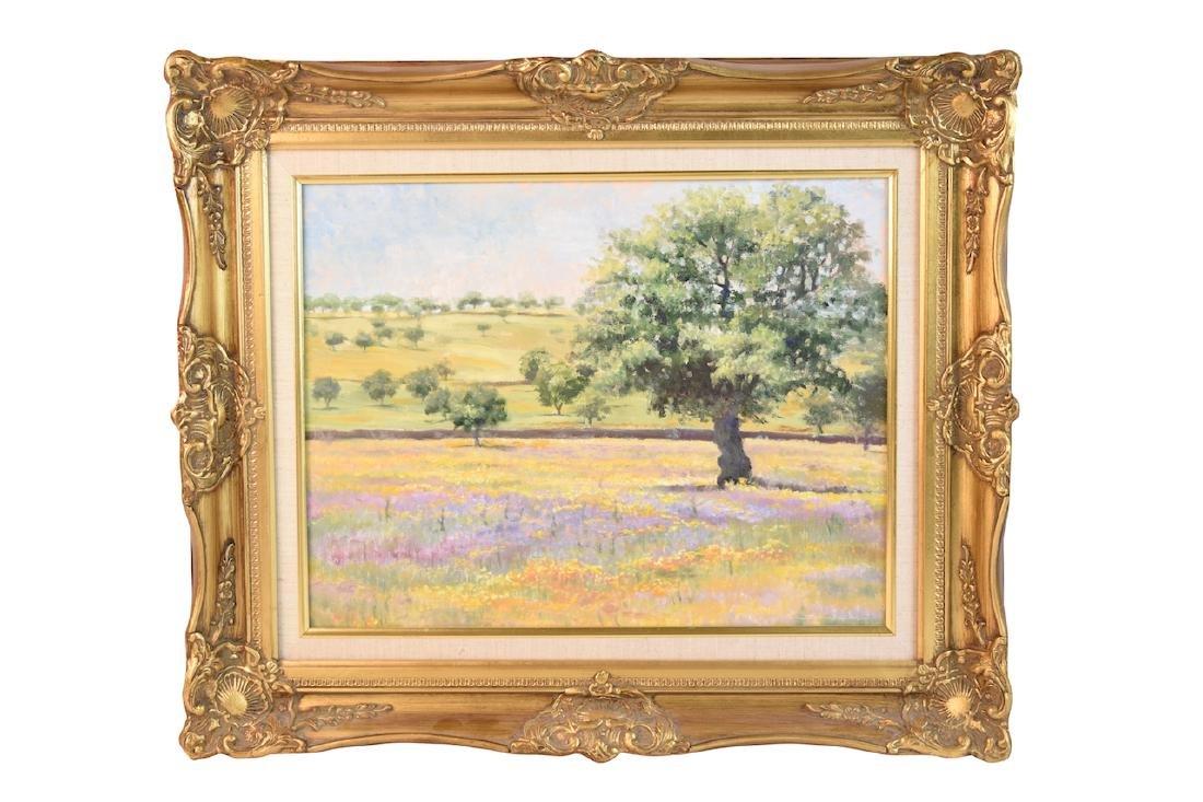 Landscape by Joyce Schumacher; Oil on Canvas