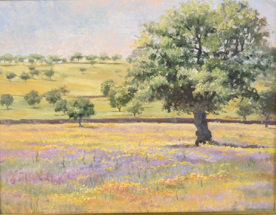 Landscape by Joyce Schumacher; Oil on Canvas - 2