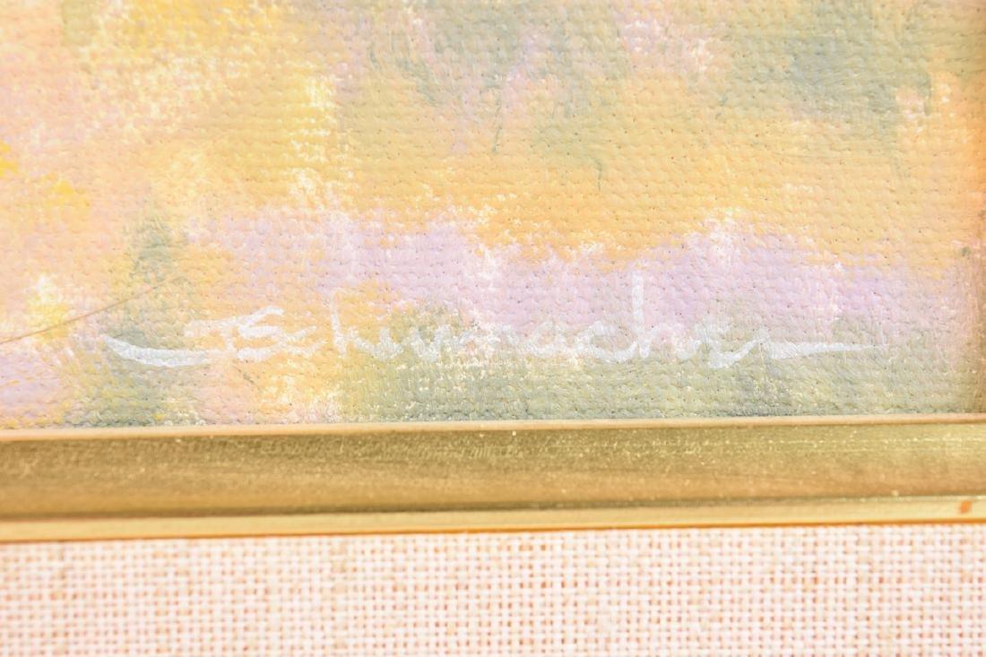 Landscape by Joyce Schumacher; Oil on Canvas - 3