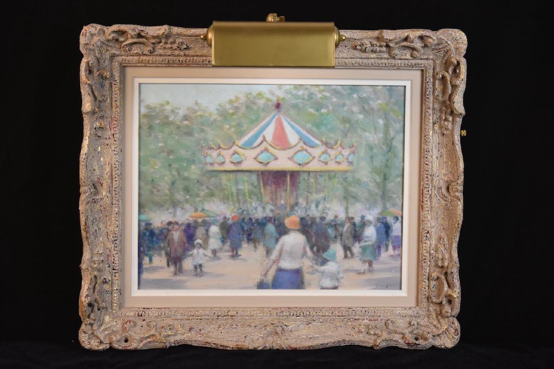 Andre' Gisson Original O/C; Carousel