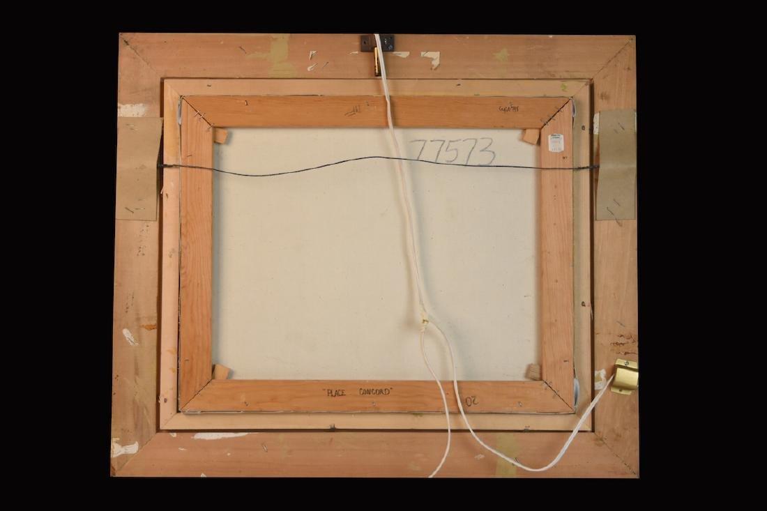 Original E.J. Cygne Signed Oil on Canvas - 4