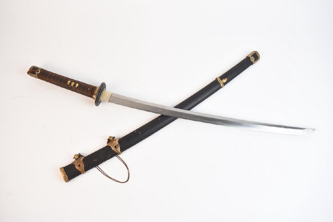 Japanese Samurai Sword W/ Sheath